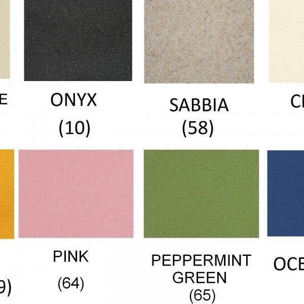 Налични цветове на гранитна мивка SCHOCK Nemo-N100S