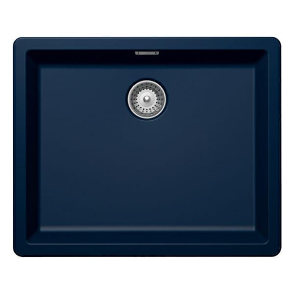 Синя мивка Schock GREENWICH N100L цвят Millenial Dive