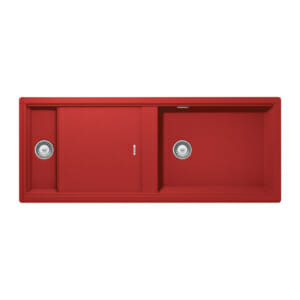 Червена мивка за кухня SCHOCK Prepstation D150
