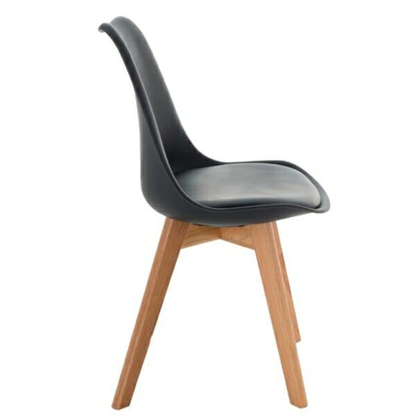 Модерен черен стол
