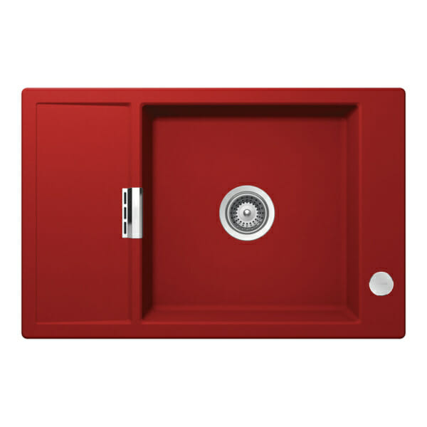 Гранитна мивка SCHOCK MONO D100XS - цвят Rouge
