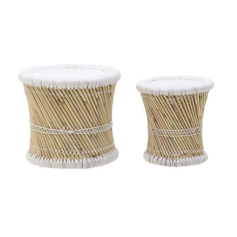 Бамбукови табуретки