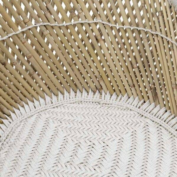 Бамбуково кресло - седалка