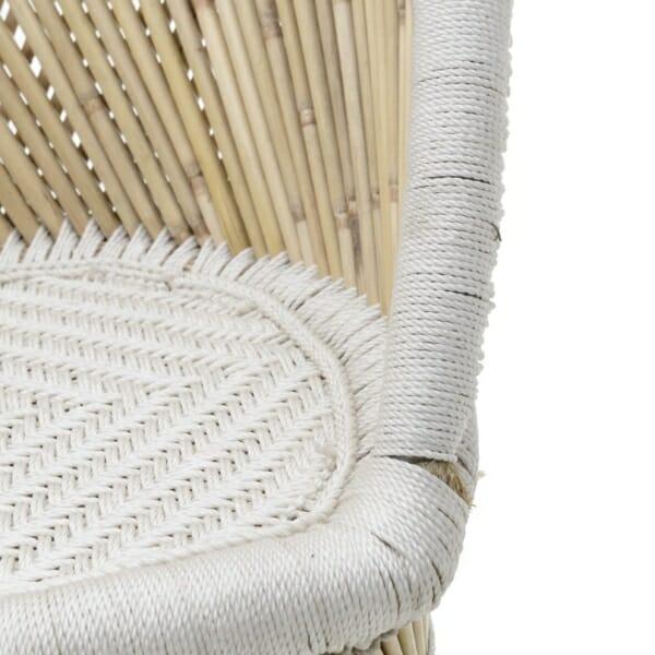 Бамбуково кресло - отблизо