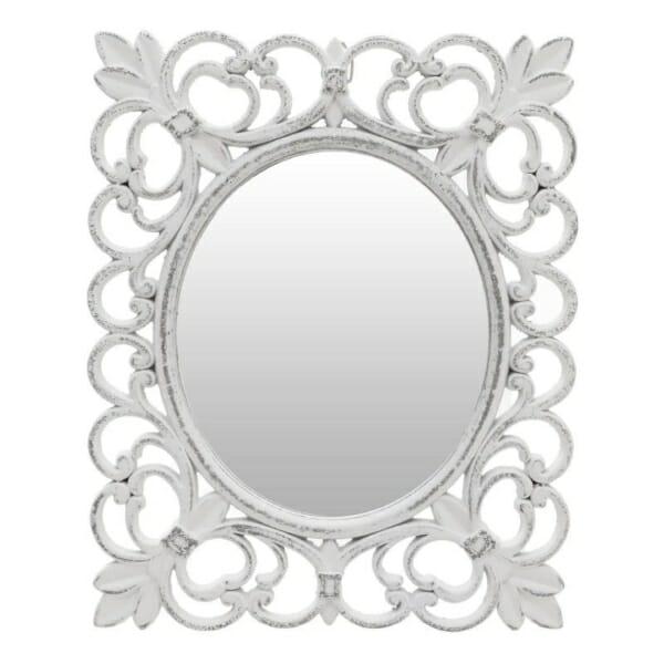 Малко стенно огледало с красива рамка
