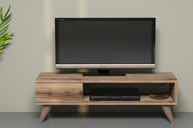 Малък ТВ шкаф с телевизор