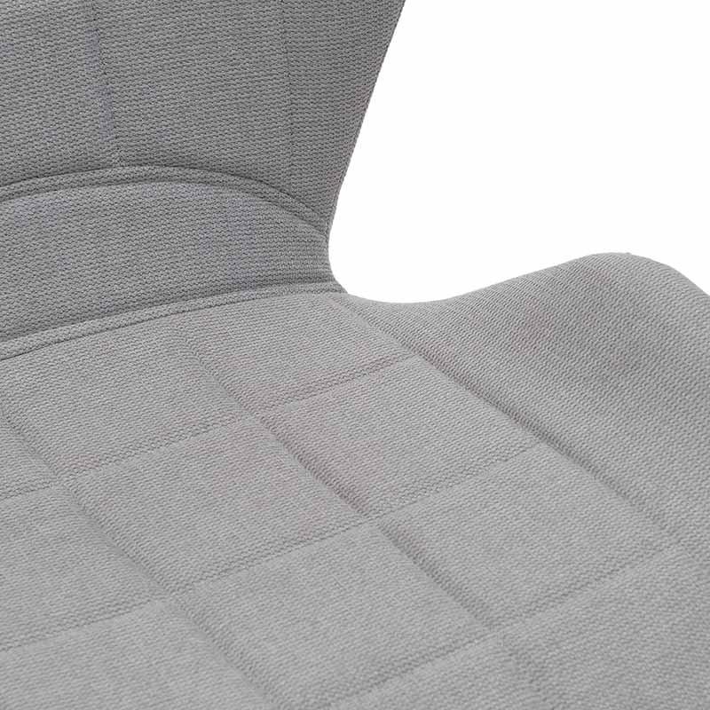 Модерен стол с извита седалка и облегалка