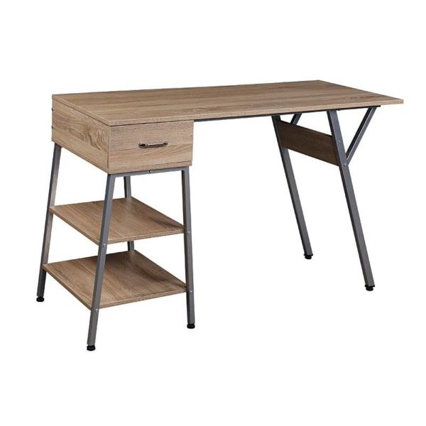 Модерно бюро с чекмедже и 2 рафта