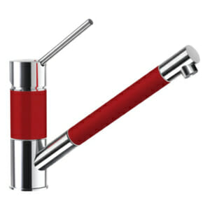Червен смесител за кухня SCHOCK SC 50 (цвят Rouge)