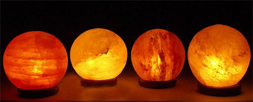 Солни лампи на тъмно