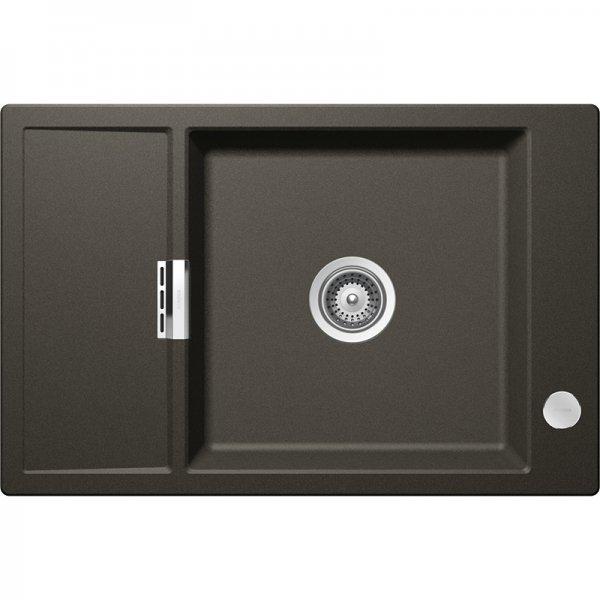 Черна мивка от гранит SCHOCK Mono D100XS, цвят Carbonium