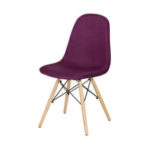 Виолетов оранжев трапезен стол Scandi 003