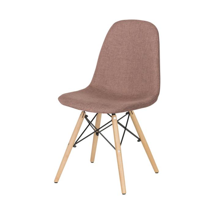 Кафяв трапезен стол Scandi 003