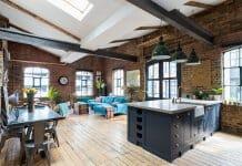 Лофт в индустриален стил в Лондон
