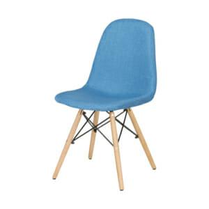 Син трапезен стол Scandi 003