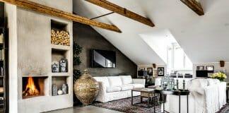Модерен тавански апартамент