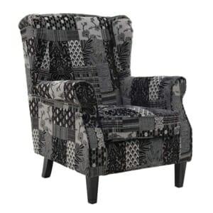 Текстилно кресло Patchwork Grey