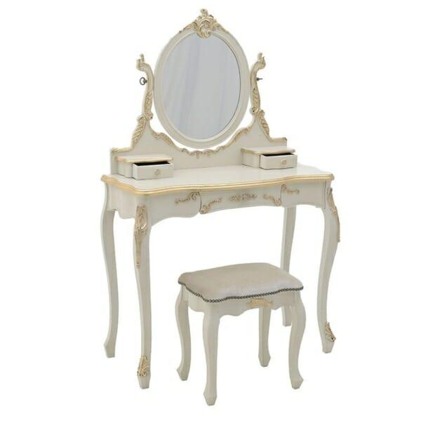 Тоалетна масичка Elegance - отворена