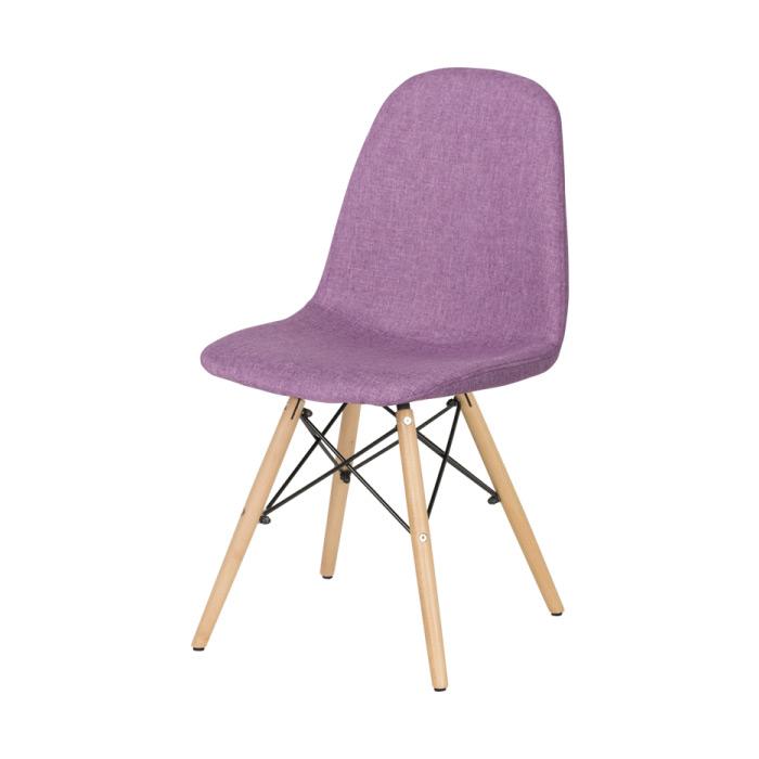 Трапезен стол Scandi 003 в цвят люляк