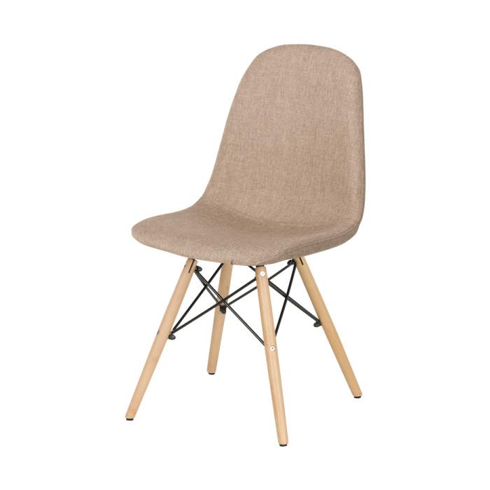 Трапезен стол Scandi 003 в цвят Слама