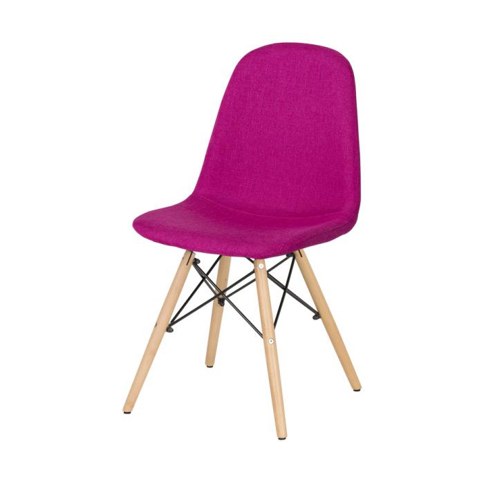 Трапезен стол Scandi 003 в цвят Циклама