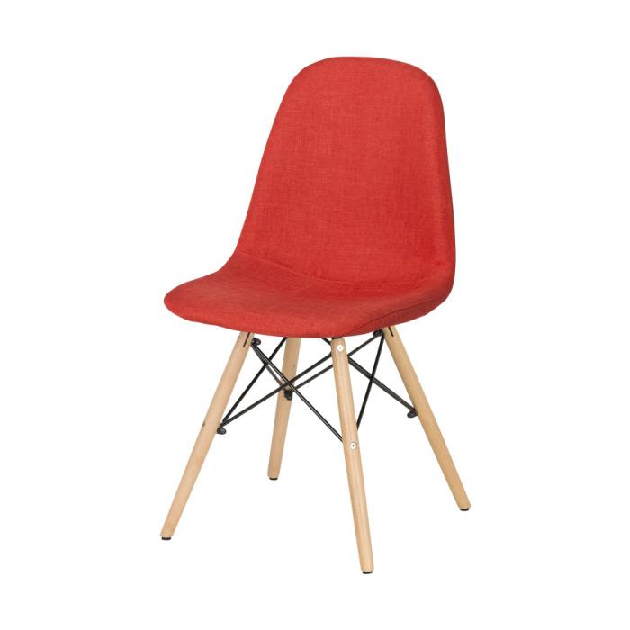Тъмно оранжев трапезен стол Scandi 003