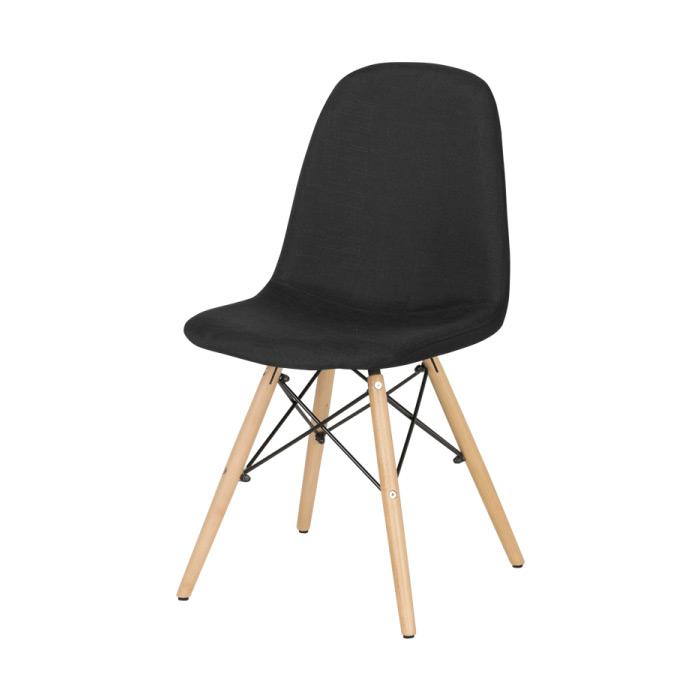 Черен трапезен стол Scandi 003