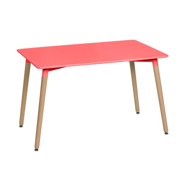 Правоъгълна трапезна маса в скандинавски стил Scandi 02