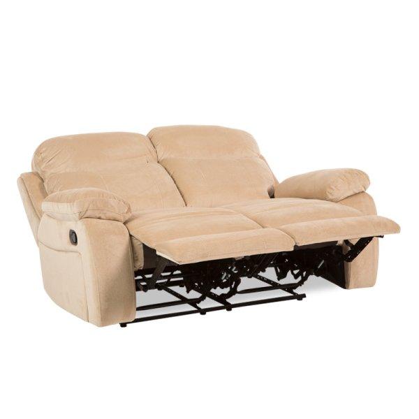Двоен диван с разпънати релакс механизми Селена