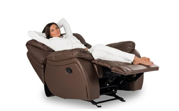 Кожени фотьойли и кресла в магазина на GranDecor