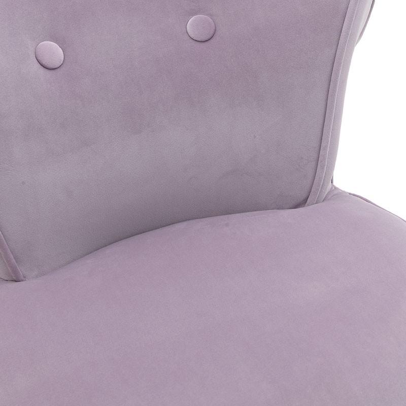 Мек текстилен стол - отблизо