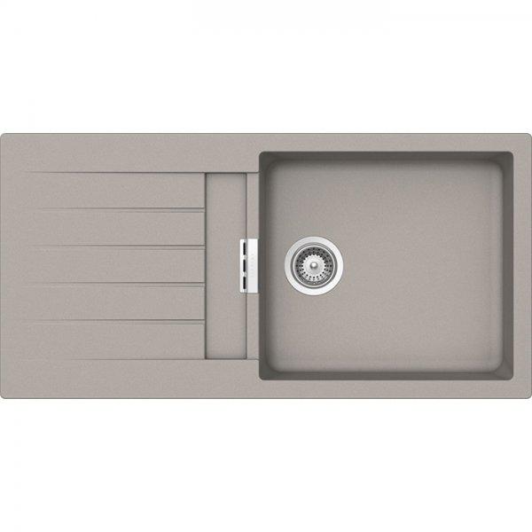 Мивка от гранит SCHOCK Primus D100L - цвят Beton