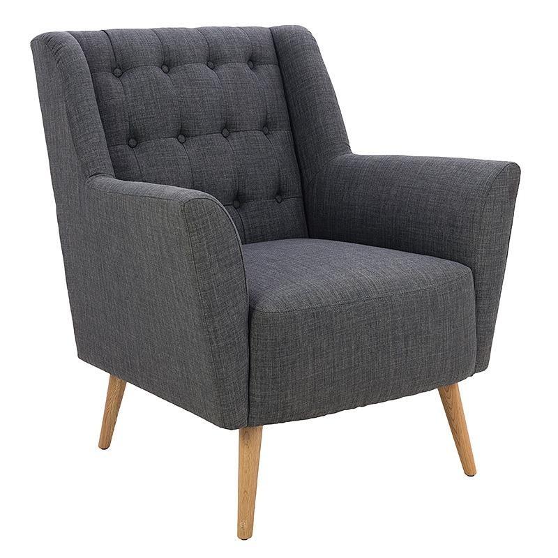 Модерно и стилно кресло в сиво