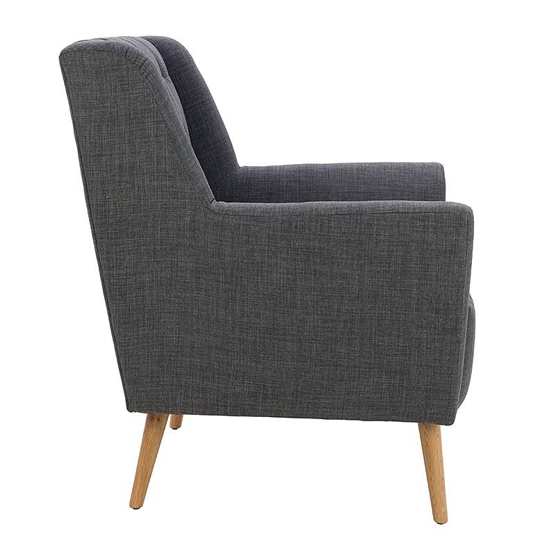 Модерно и стилно кресло - отстрани