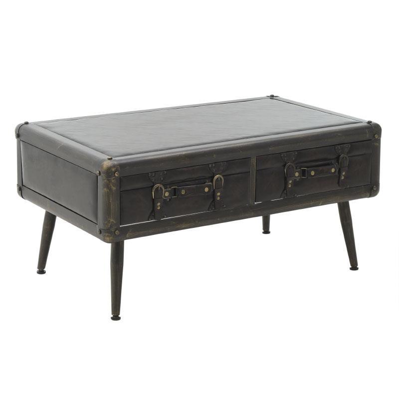 Ниска холна маса във формата на стар куфар