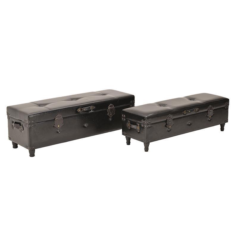 Пейка за антре във формата на стар куфар