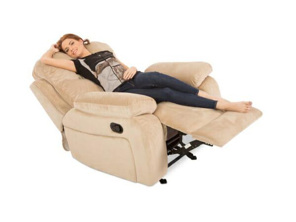 Удобен фотьойл с релакс механизъм Селена - разпънат