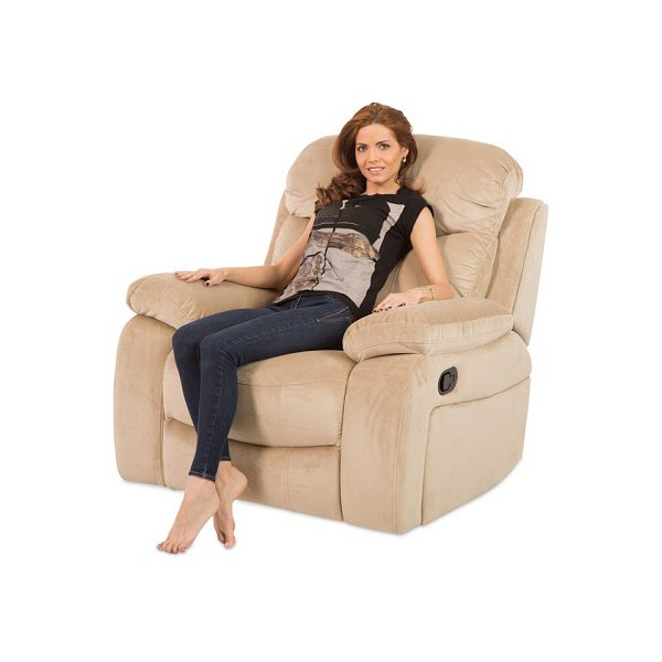 Удобен фотьойл с релакс механизъм Селена