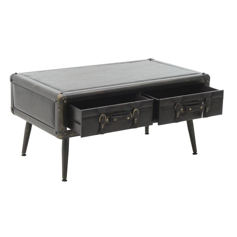 Холна маса-куфар, с отворени чекмеджета