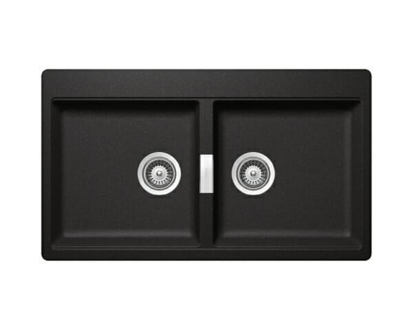 Двойна мивка за кухня SCHOCK Horizont N200