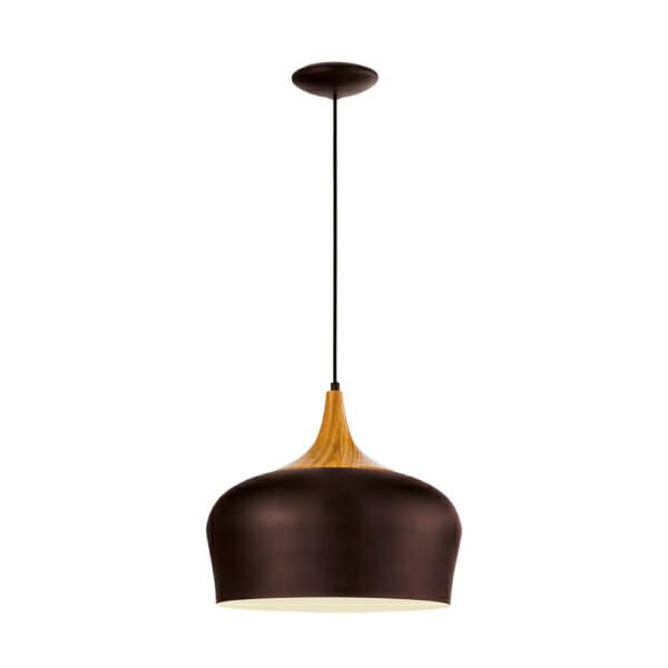 Модерен пендел серия Obregon, цвят кафяв+крем+дъб
