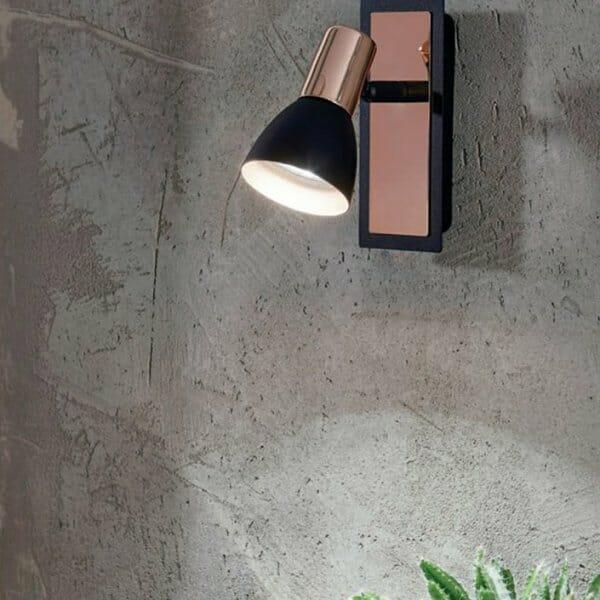 Модерен спот аплик серия Barnham-интериор