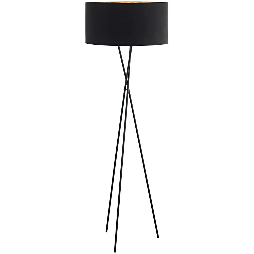 Модерен черен лампион серия Fondachelli
