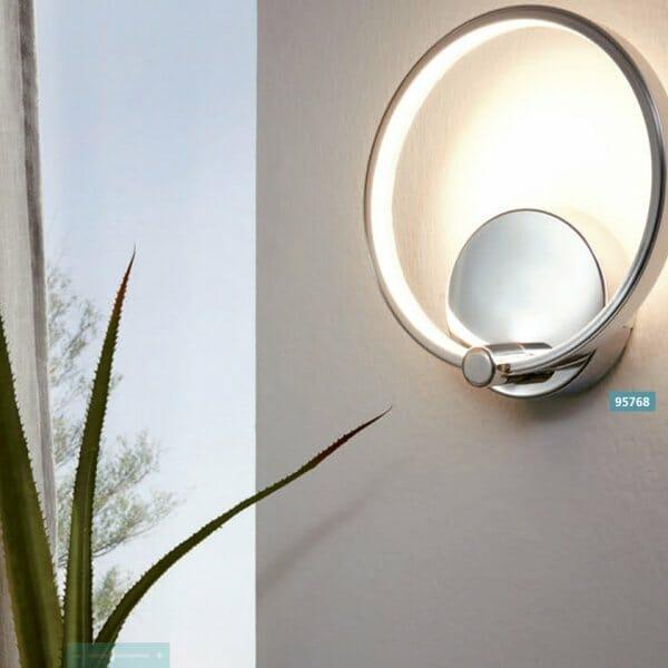 Модерен LED аплик серия Lasana-монтиран на стена