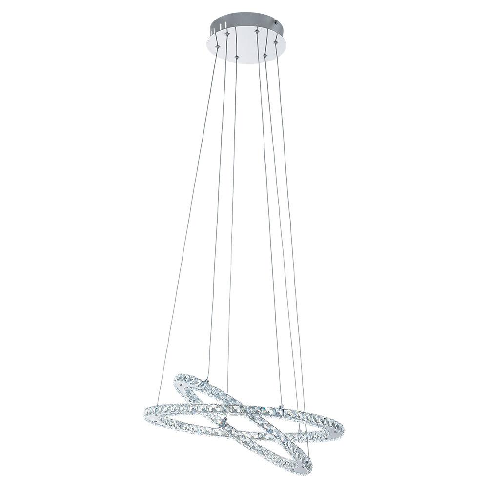 Модерен LED полилей с кристали серия Varrazo