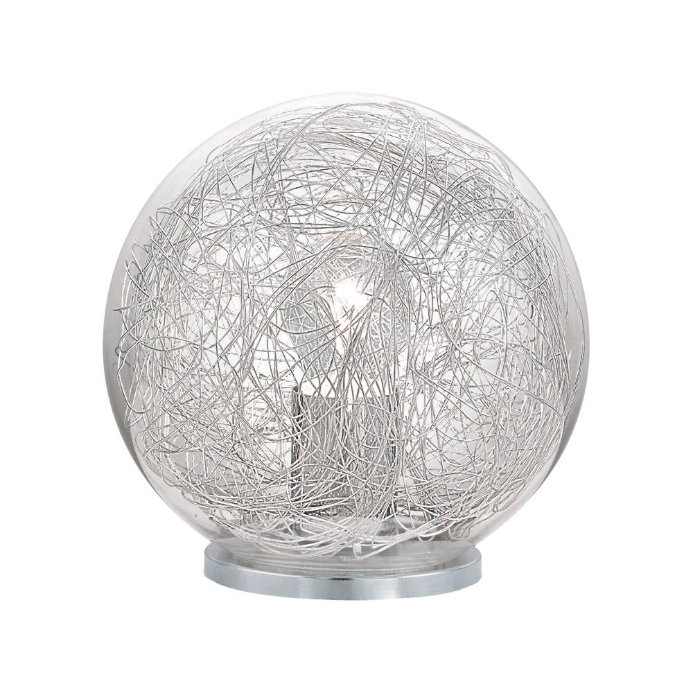 Модерна сферична настолна лампа серия Luberio