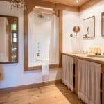 Уютна рустик баня