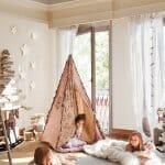 Палатка в детската