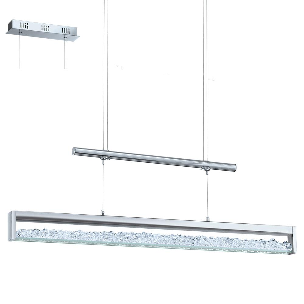 Стилен LED полилей с кристали серия Cardito