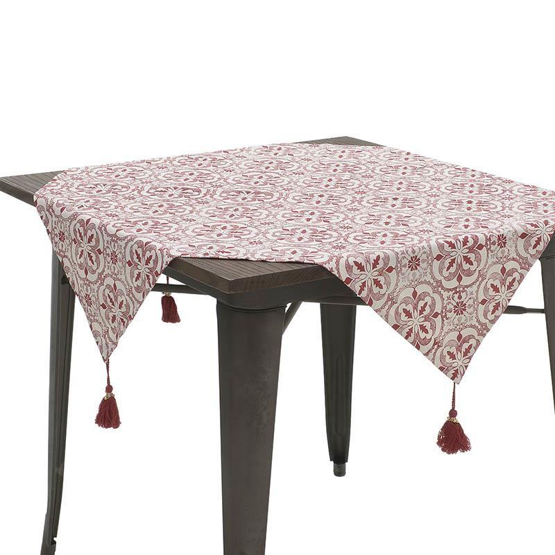 Текстилна покривка за маса Red Tassel-малка